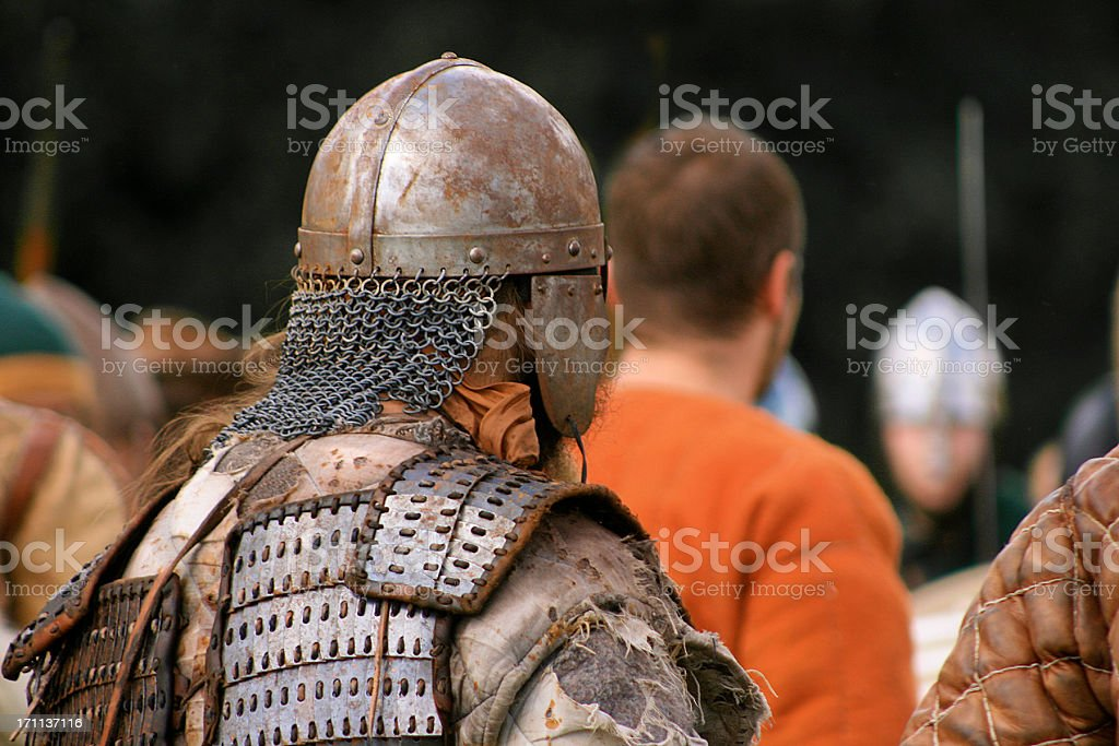 medieval reenactment royalty-free stock photo