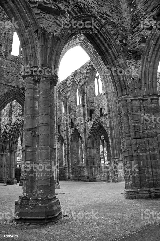 Medieval ruins royalty-free stock photo