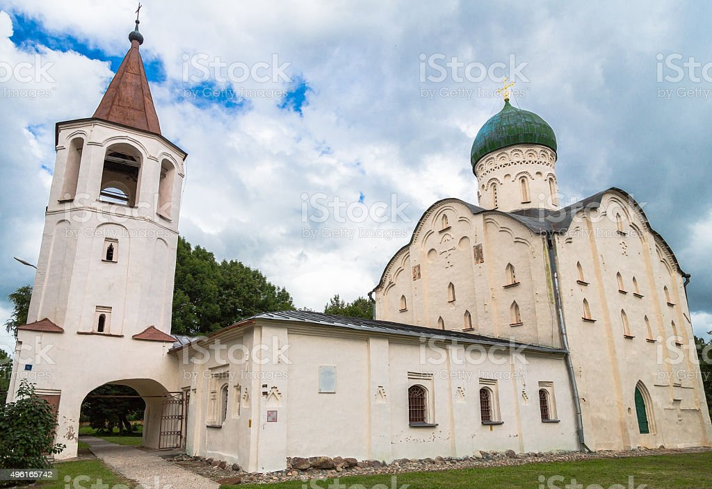 Medieval Russian Church stock photo