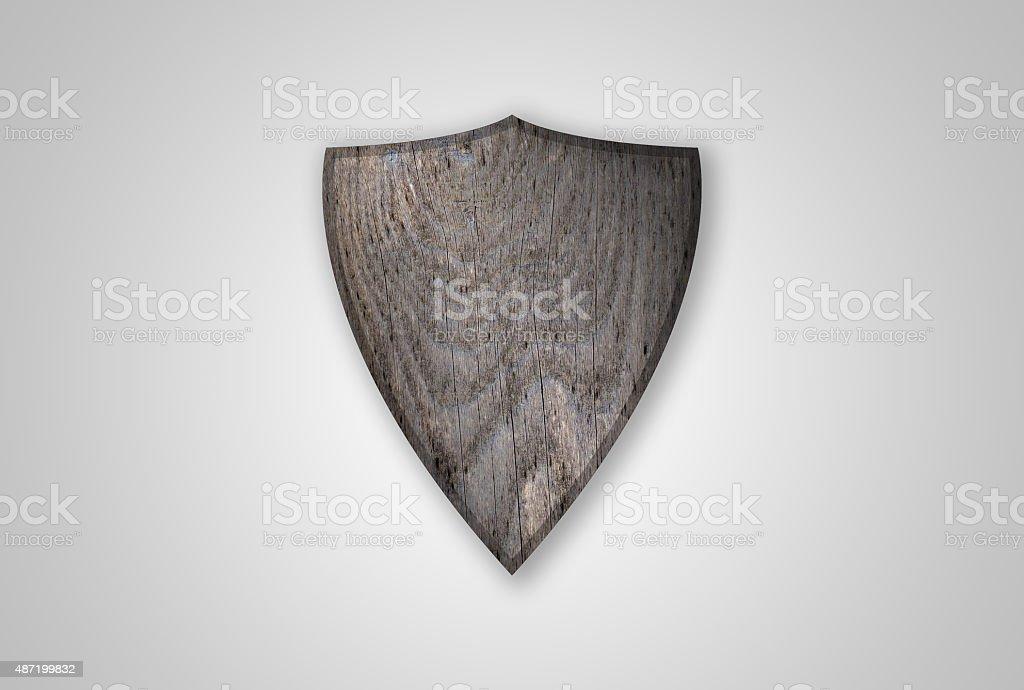 Medieval Shield stock photo