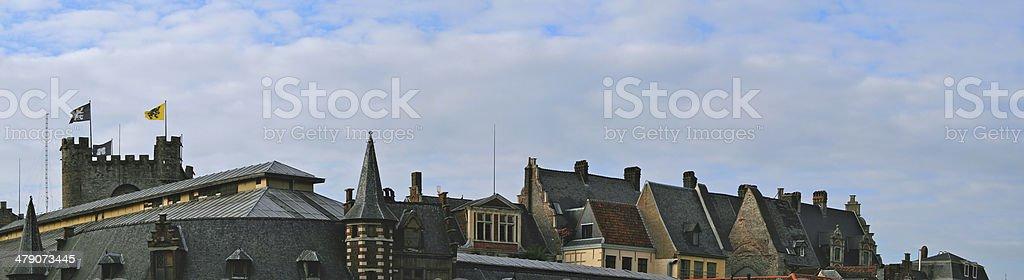 Medieval Skyline stock photo