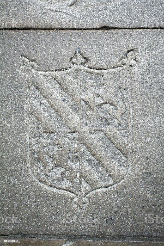 medieval symbols royalty-free stock photo