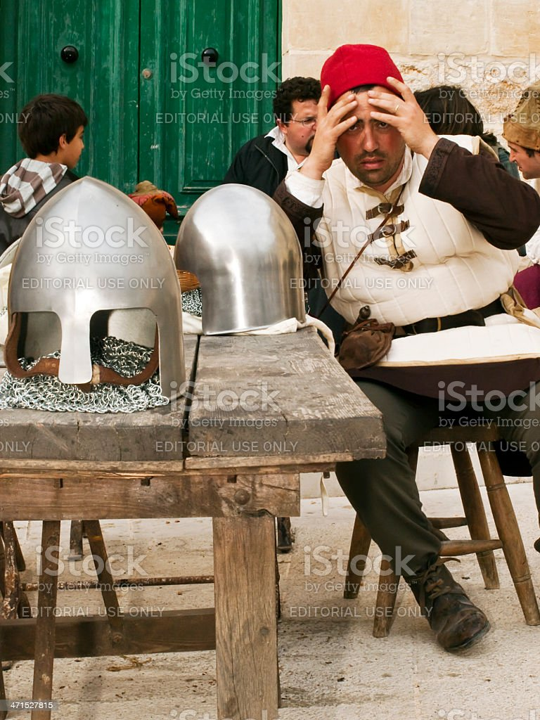 Medieval Tavern royalty-free stock photo