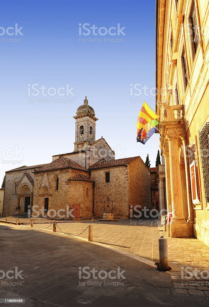 Medieval Town royalty-free stock photo