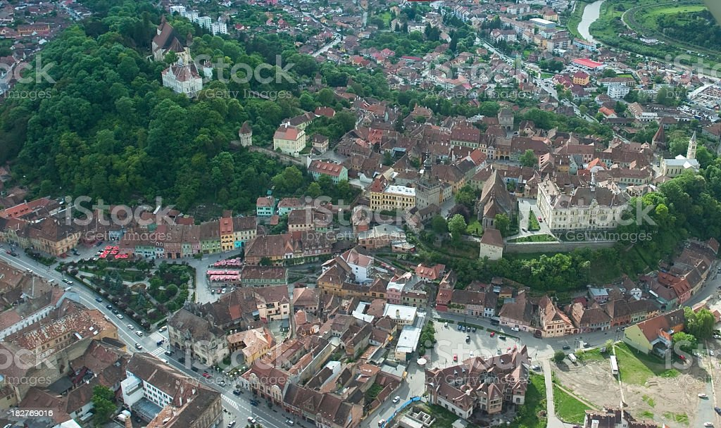 Medieval Town stock photo