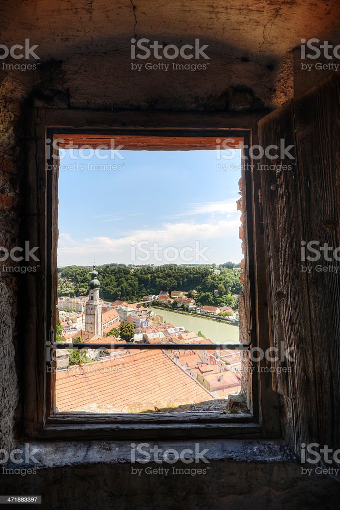 Medieval View royalty-free stock photo