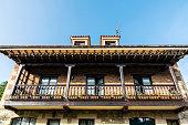 Medieval village of Santillana del Mar in Spain