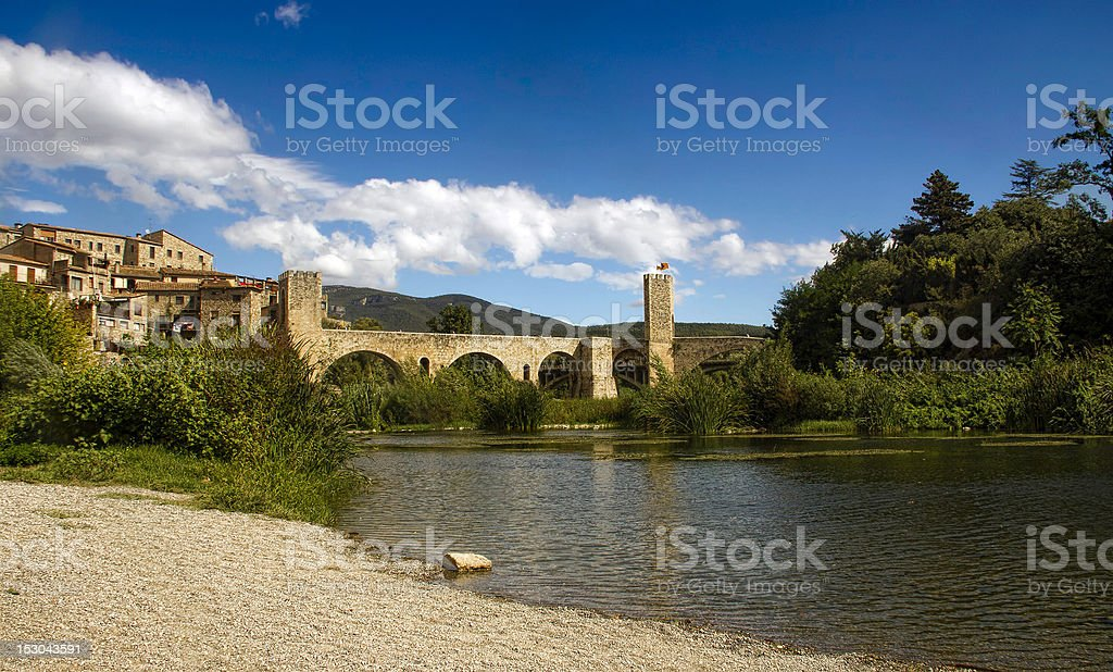 Medieval village royalty-free stock photo