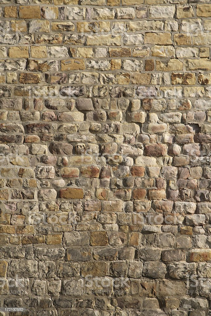 Medieval Wall Background royalty-free stock photo