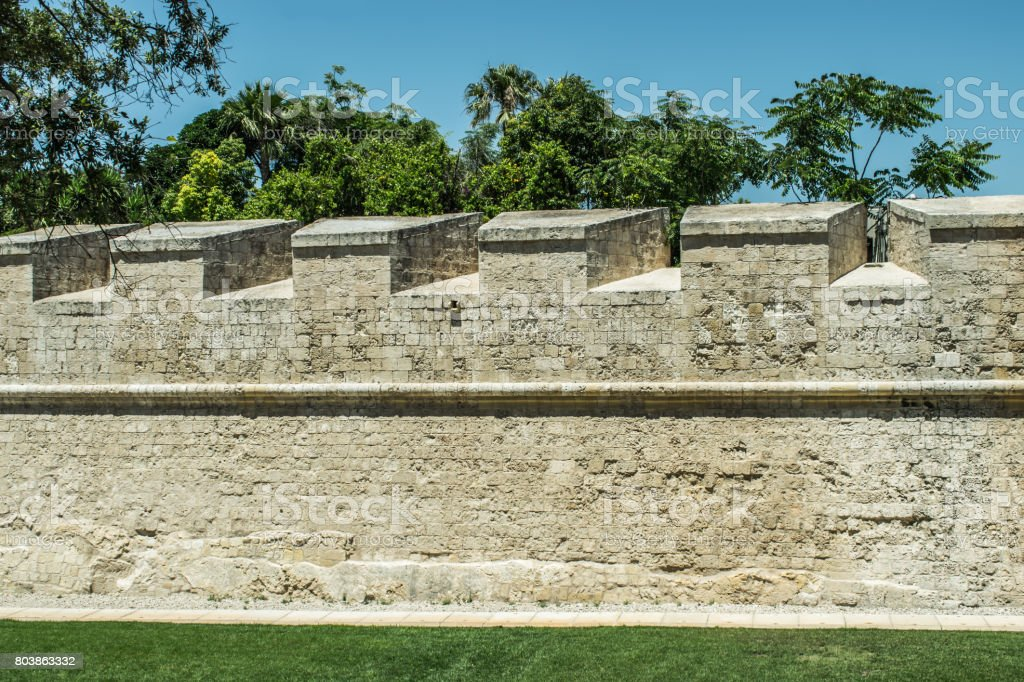 Medieval Walls stock photo