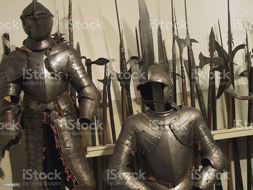 medieval weapons royalty-free stock photo