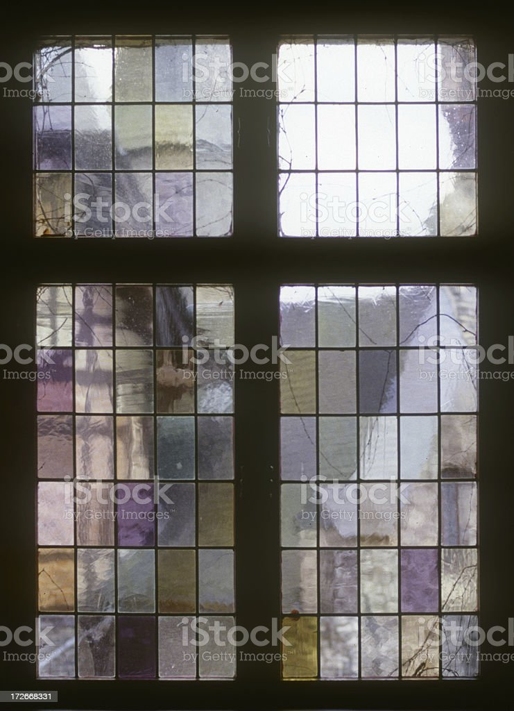 Medieval Window stock photo