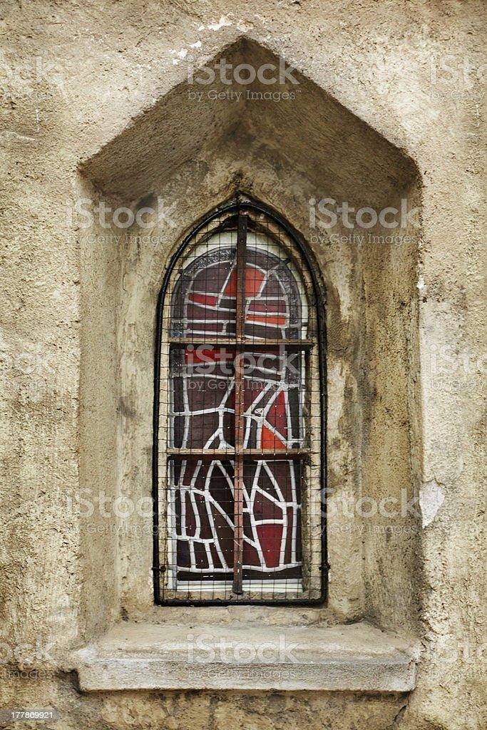 Medieval window royalty-free stock photo