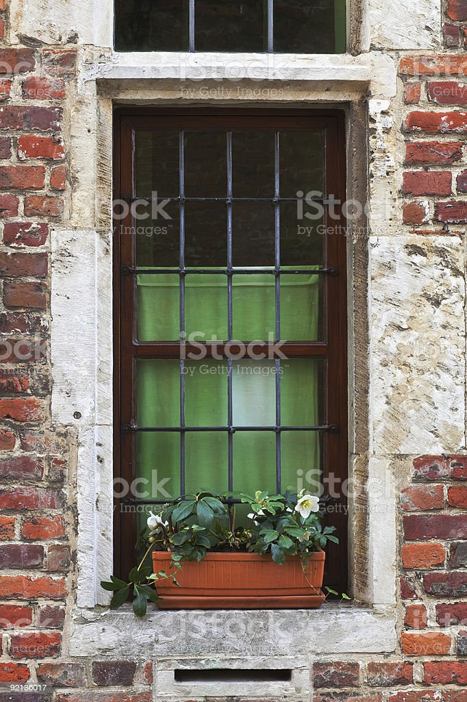 Medieval window royalty-free stock photo