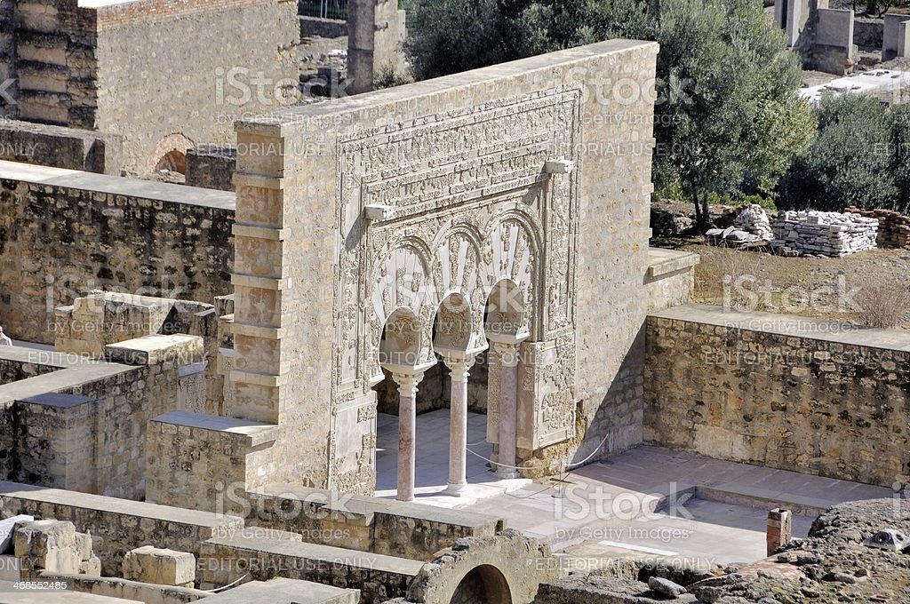 Medina Azahara ruins, Cordoba, Spain stock photo