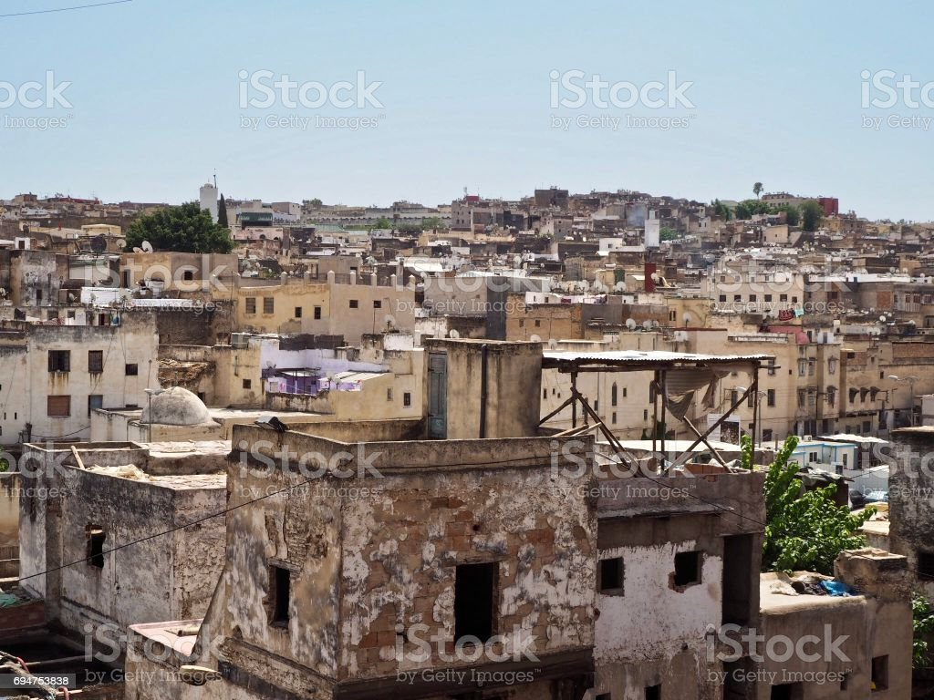 Medina in Fez stock photo