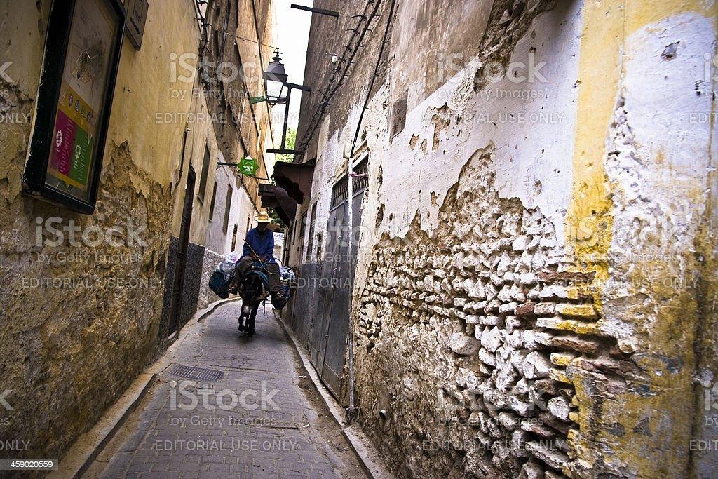 Medina of Fez royalty-free stock photo