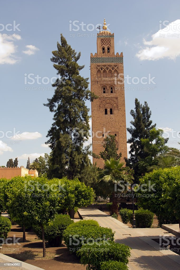 Medina of Marrakech stock photo