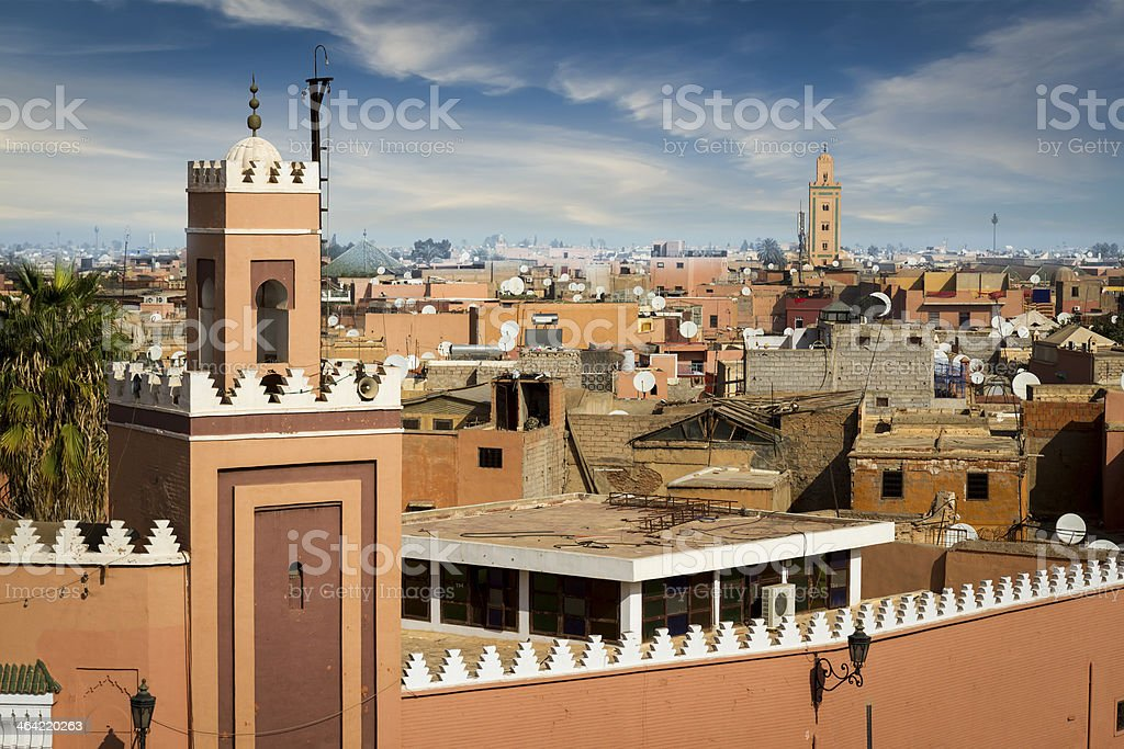 Medina of Marrakesh stock photo
