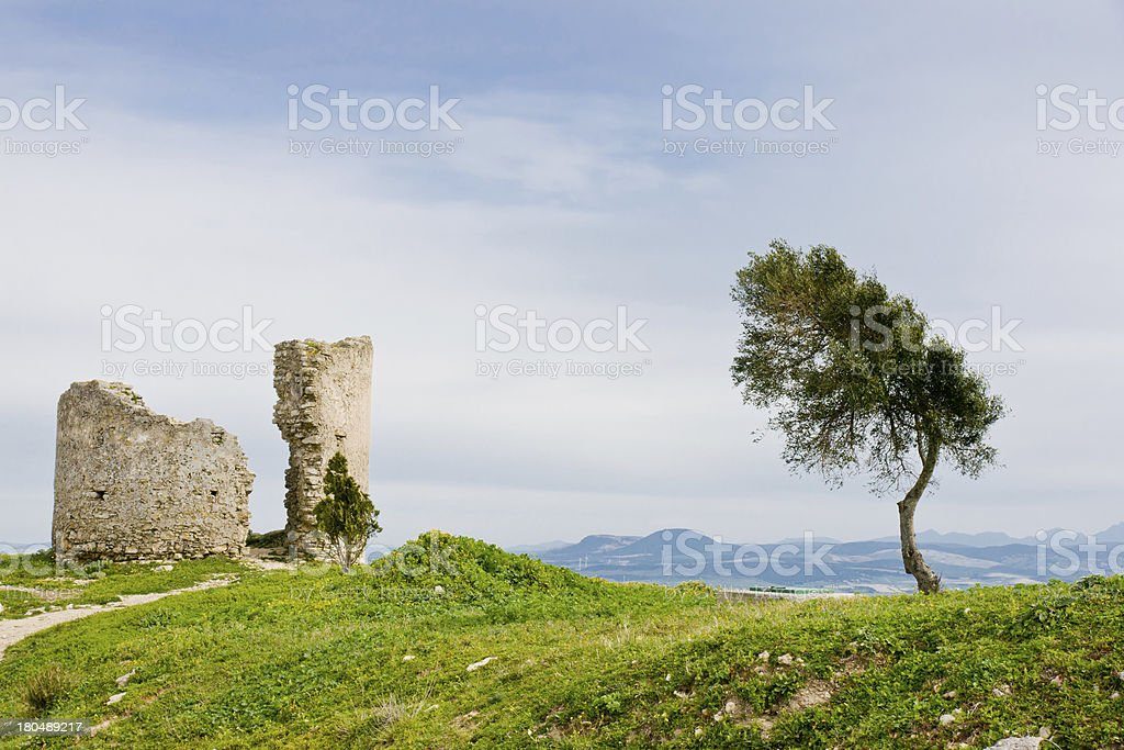 Medina Sidonia in Cadiz, Andalucia, Spain royalty-free stock photo