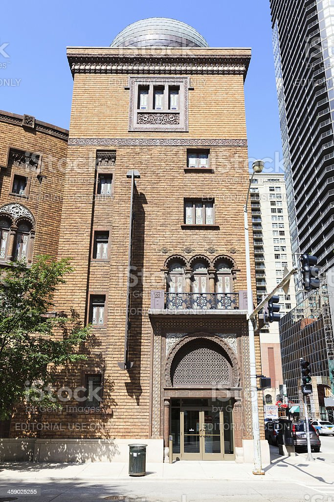 Medinah Temple,  Chicago stock photo