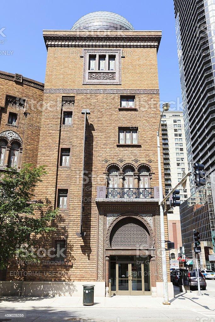 Medinah Temple,  Chicago stock photo