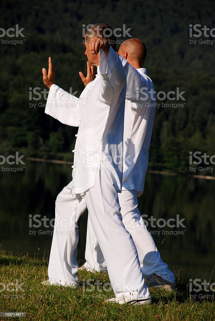 Meditaion time royalty-free stock photo