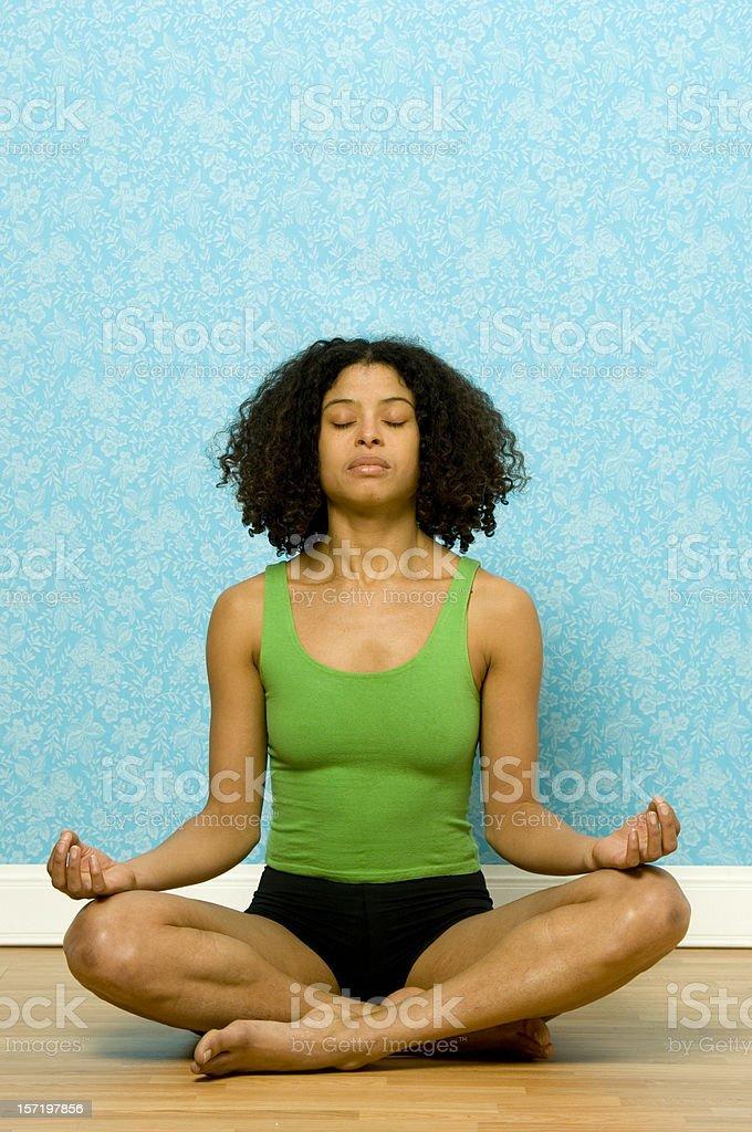 Meditation and yoga royalty-free stock photo