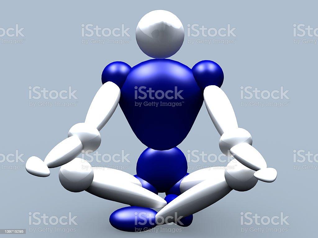 Meditation vol 3 royalty-free stock photo