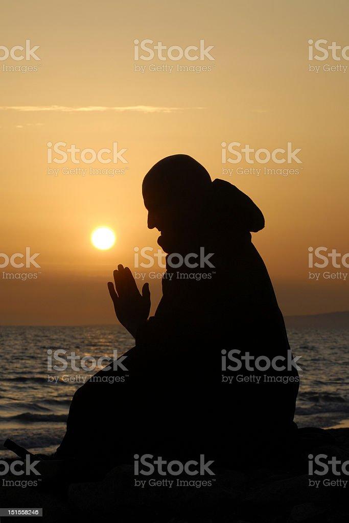 Meditazione royalty-free stock photo
