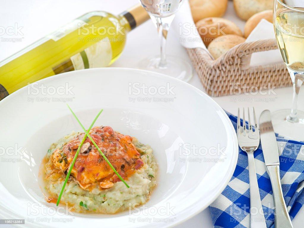 Mediteranean cuisine stock photo