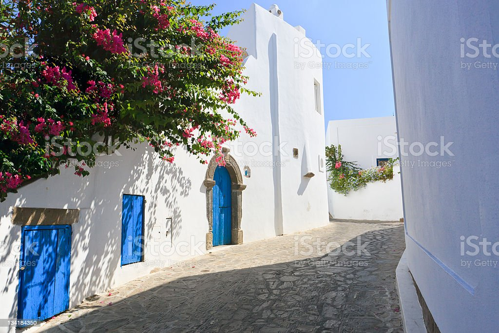 Mediterranean architecture stock photo