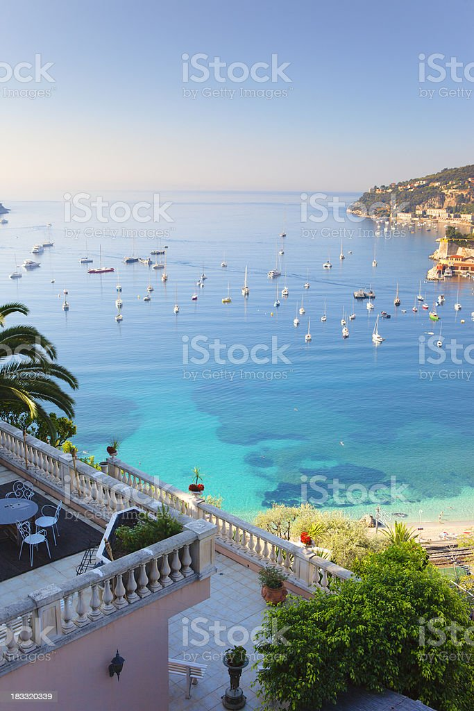 Mediterranean Bay stock photo