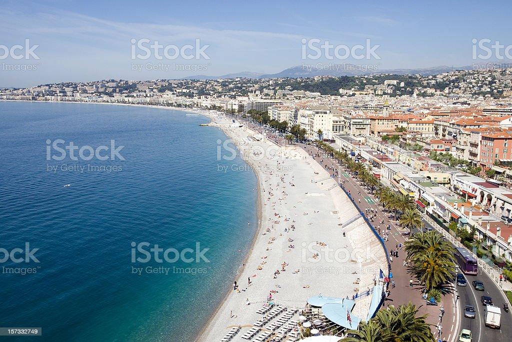 Mediterranean Beach royalty-free stock photo
