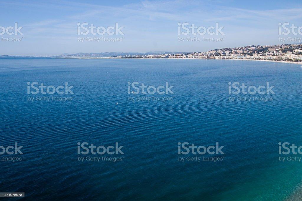 Mediterranean Blue stock photo