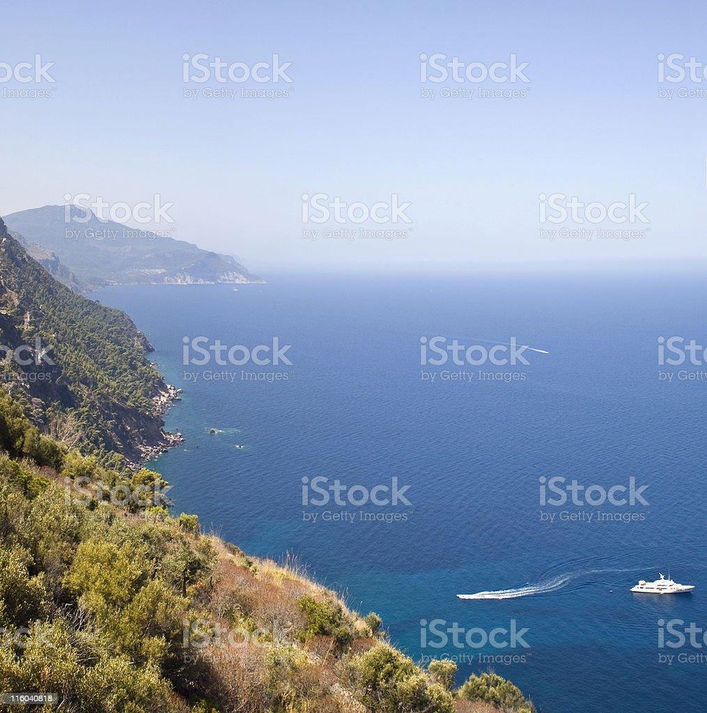 Mediterranean boats. royalty-free stock photo