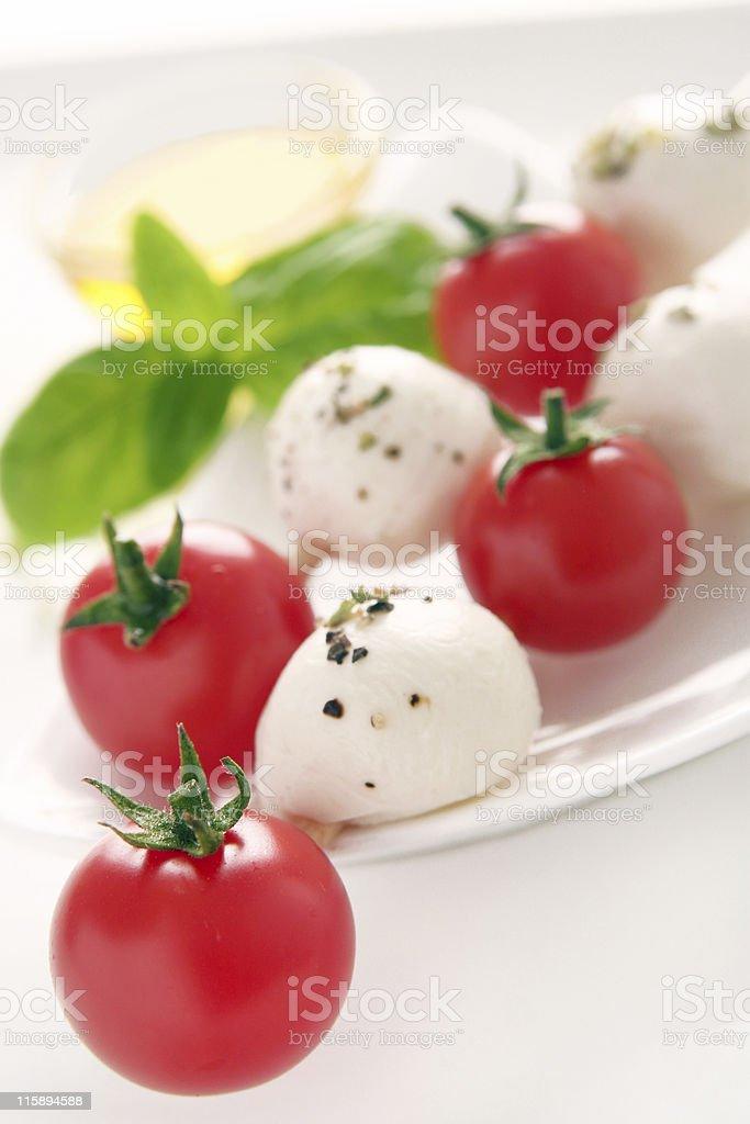 Mediterranean brochettes stock photo