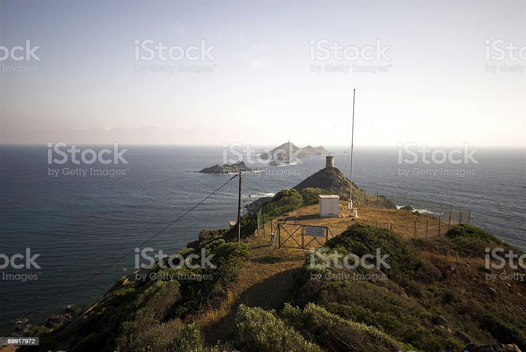 Mediterranean Coastline stock photo