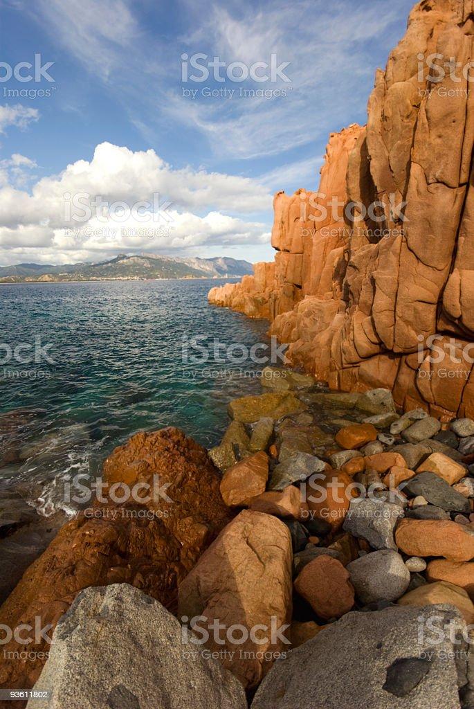 Mediterranean Coastline royalty-free stock photo