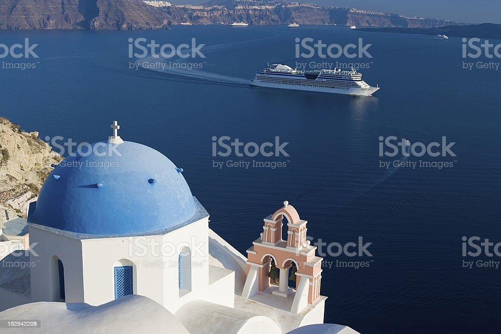 Mediterranean Cruise royalty-free stock photo