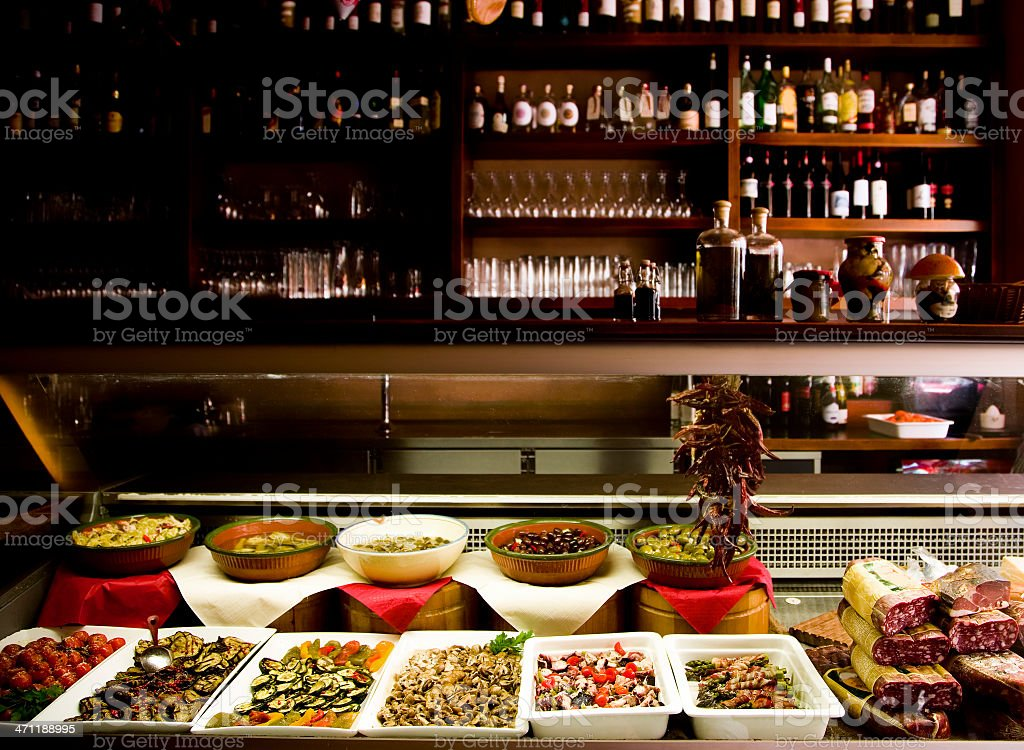 Mediterranean Cuisine royalty-free stock photo
