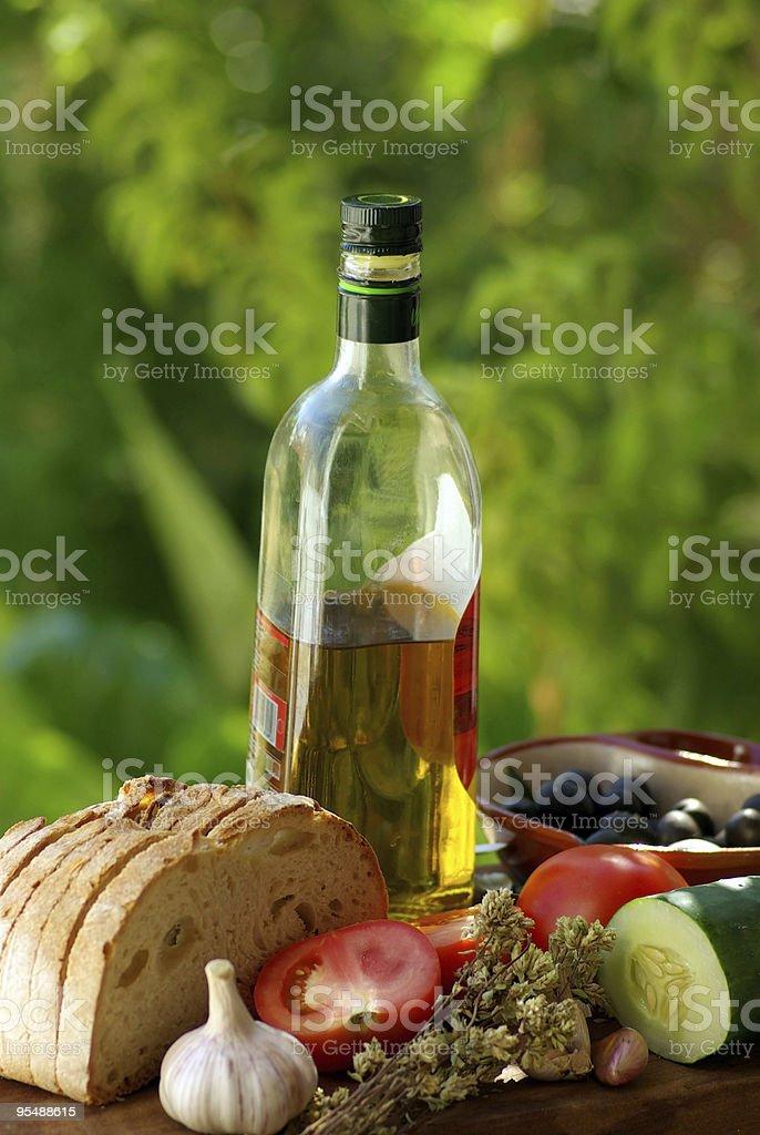 Mediterranean cuisine. royalty-free stock photo