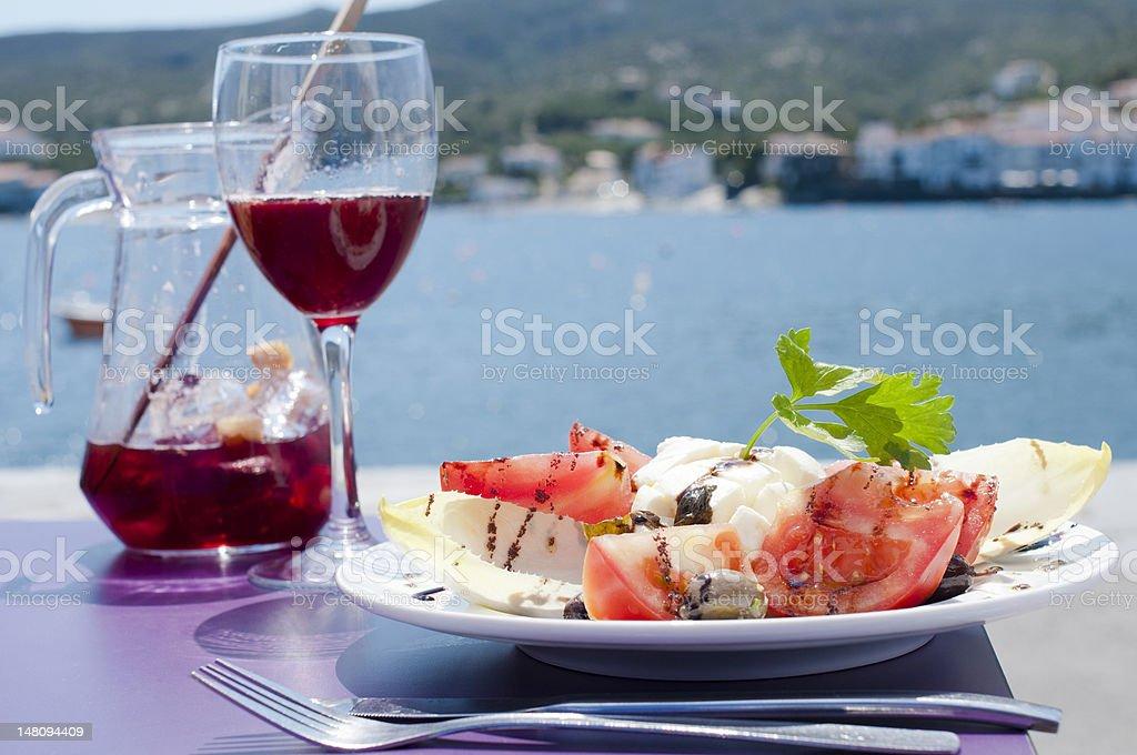 Mediterranean delight stock photo