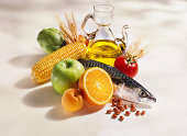 Mediterranean diet cooking ingredients