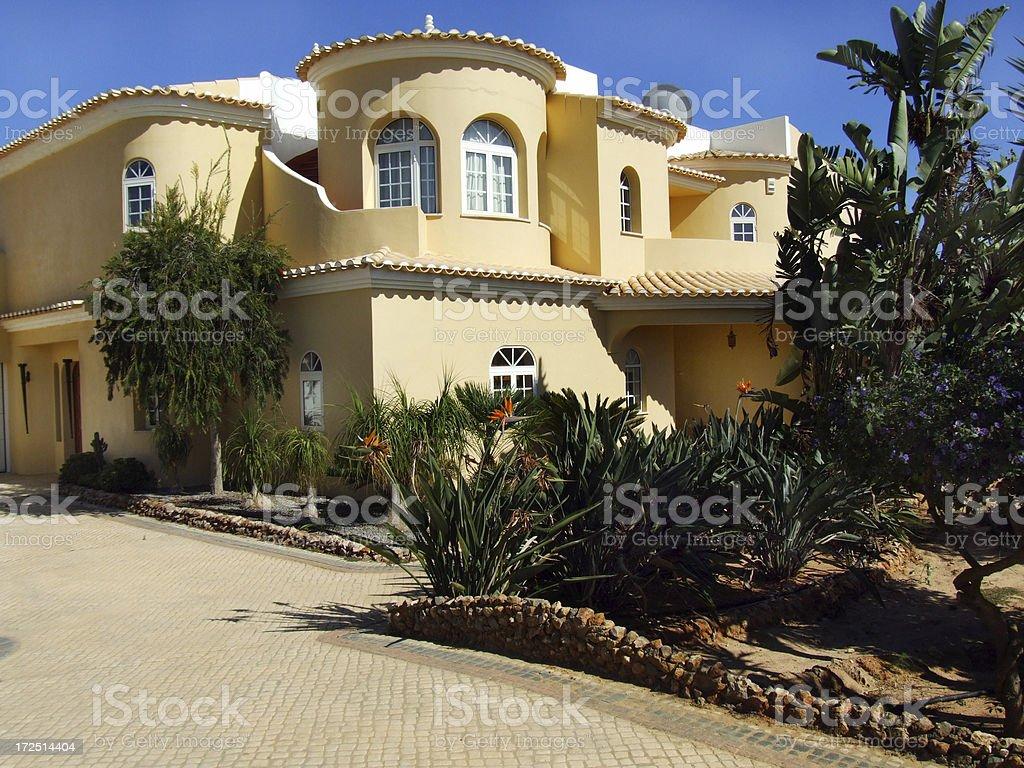Mediterranean holiday residence royalty-free stock photo
