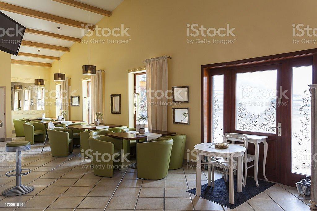Mediterranean interior - lounge royalty-free stock photo