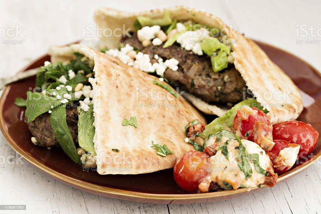 Mediterranean Meal royalty-free stock photo