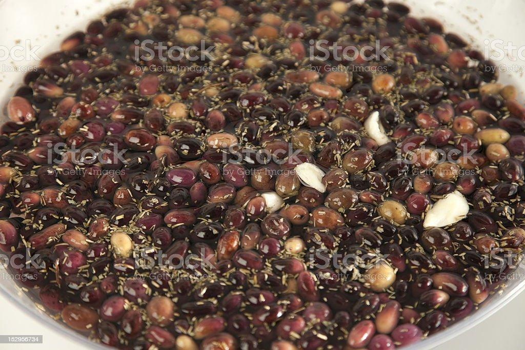 Mediterranean Olives royalty-free stock photo