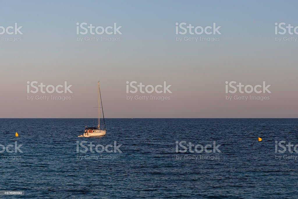 Mediterranean peace royalty-free stock photo