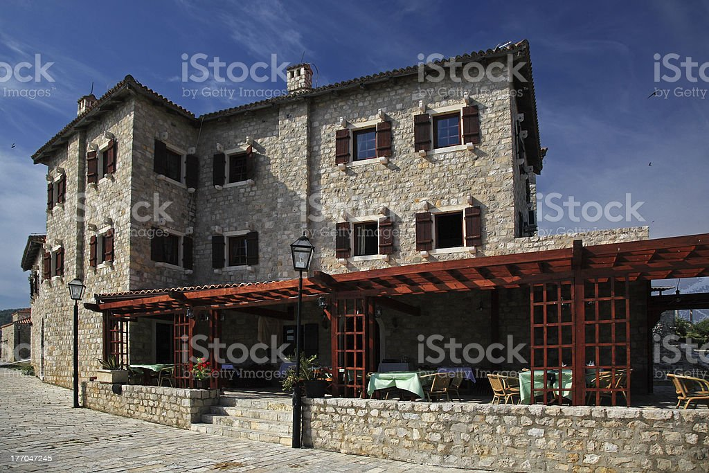 Mediterranean restaurant royalty-free stock photo